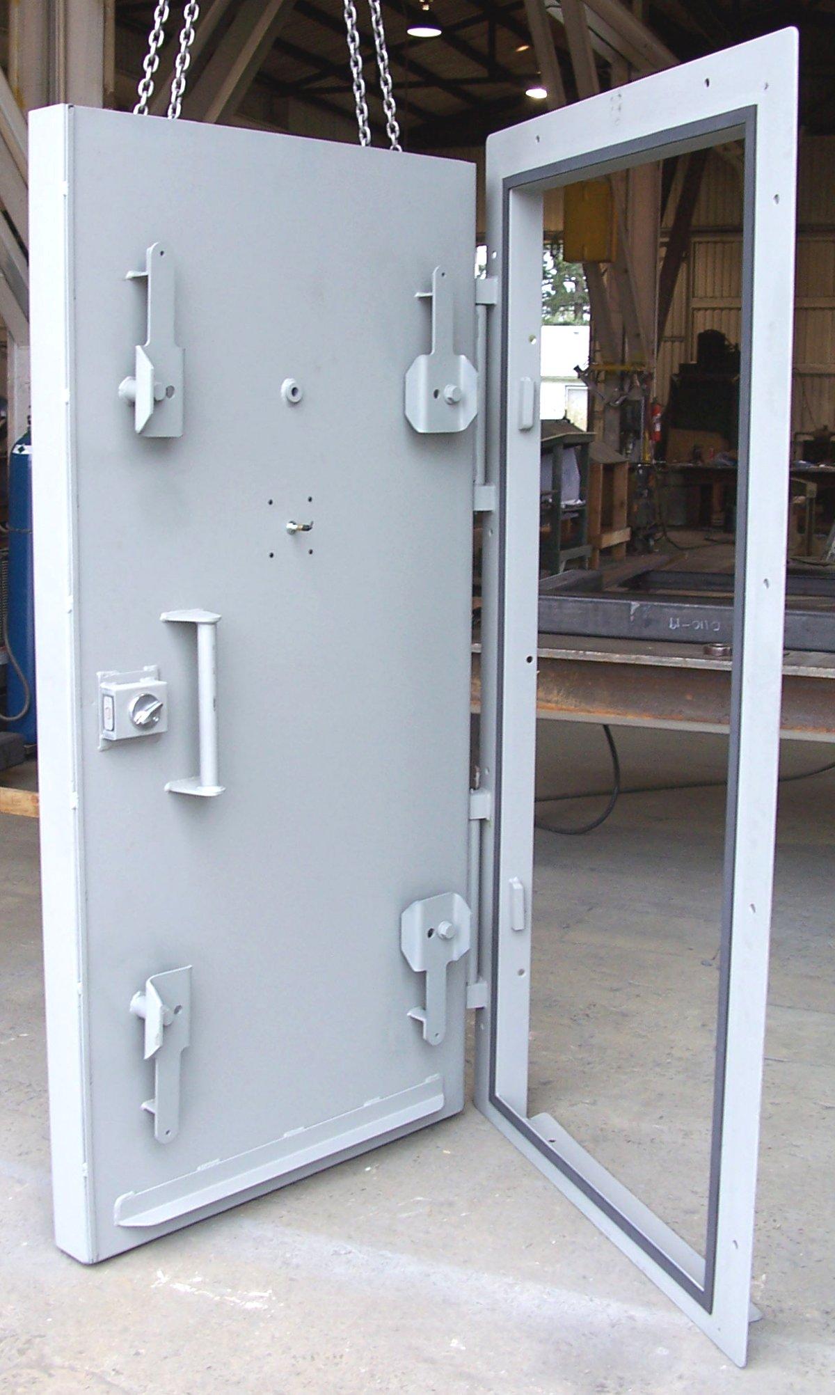 Blast Resistant Doors For Underground Bunkers